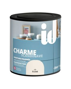 Peinture Charme Ecume 500ml ID Paris