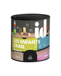 Peinture Les Enfants Craie Noir 500ml Id Paris