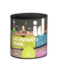 Peinture Les Enfants Craie Vert 500ml Id Paris