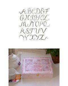 Pochoir Alphabet Majuscules