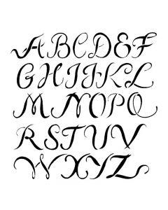 Pochoir Alphabet Majuscules Artemio
