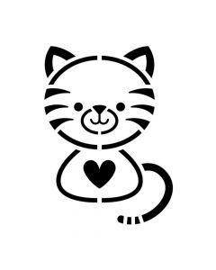 Pochoir Animal : Chat Artemio