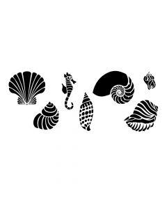 Pochoir Animal : Coquillage Artemio