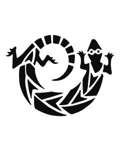 Pochoir Animal : Lézard Artemio