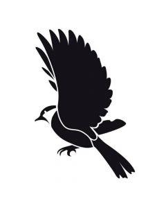 Pochoir Animal : Oiseau Artemio