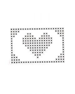 Pochoir Déco : Coeur