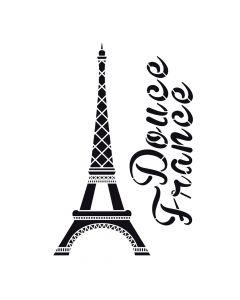 Pochoir Déco : Tour Eiffel Artemio