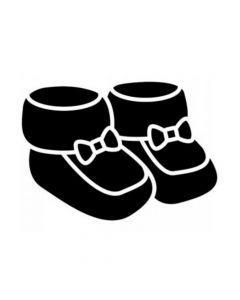 Pochoir Enfant : Chaussons Artemio