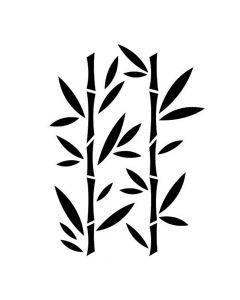 Pochoir Feuille : Bambou Artemio