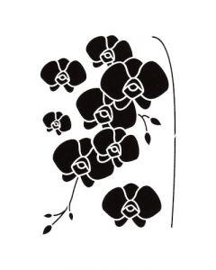 Pochoir Fleur Artemio : Orchidées