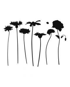 Pochoir Fleur : Fleurs des Champs Artemio