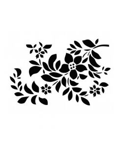 Pochoir Fleur : Fleurs & Feuilles Artemio