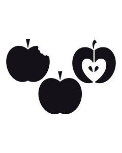 Pochoir Fruit : Pommes