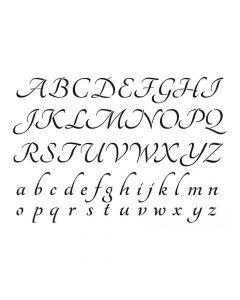 Pochoir Lettre : Alphabet Artemio