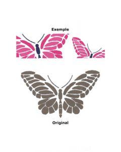 Pochoir Animal : Papillon Royal