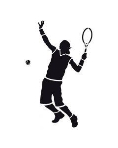 Pochoir Sport : Tennisman Artemio