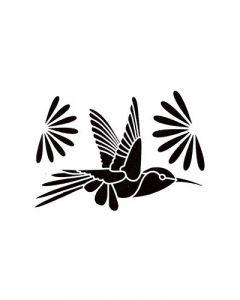 Pochoir Animal Artemio : Vol d'Oiseau