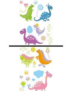 Sticker Mural Animal : Dinosaures