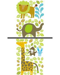 Sticker Mural Animal : Savane