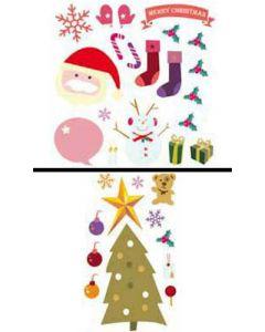 Sticker Mural Déco : Sapin de Noël