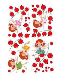 Sticker Mural Enfant : Fées